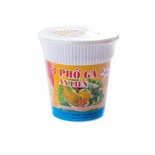 Лапша Bich-Chi рисовая со вкусом курицы стакан