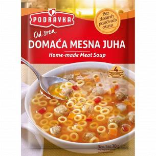Суп Podravka по-домашнему мясной