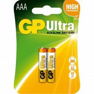 Батарейки GP ULTRA 24AU-U2шт, ААА