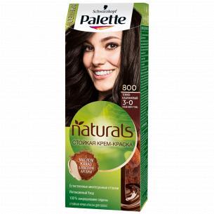 Palette Naturals (Фитолиния) Краска для волос 3-0 (800) Темно-каштановый 110 мл