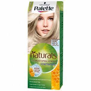 Palette Naturals (Фитолиния) Краска для волос 10-2 (219) Холодный блондин 110 мл