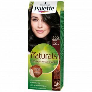 Palette Naturals (Фитолиния) Краска для волос 1-0 (900) Черный 110 мл