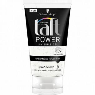 Гель для укладки волос Taft Power Невидимая фиксация