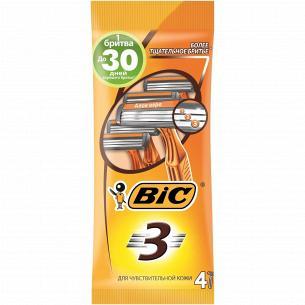 Бритва BiC 3 Sensitive