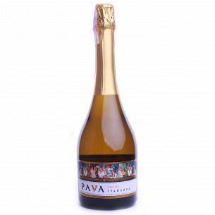 Вино газированное Pava ГрайливаПерсик белое п/слад