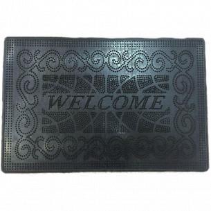 Коврик Гнивань Welcome-3 резиновый 40х59cм