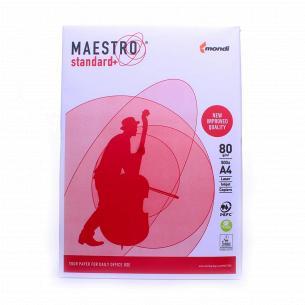Бумага офисная Maestro Standard+ A4 80г/м2 500лис