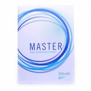 Бумага офисная Master A4 80г/м2 500лис