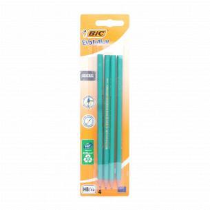 Набор карандашей BIC Evolution чернографитных 4 шт.