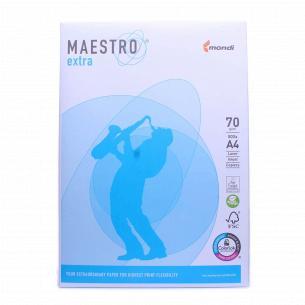 Бумага офисная Maestro Extra А4 70г/м2 500лис