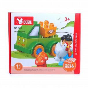 Игрушка детская Конструктор Машинка 11элемен D1