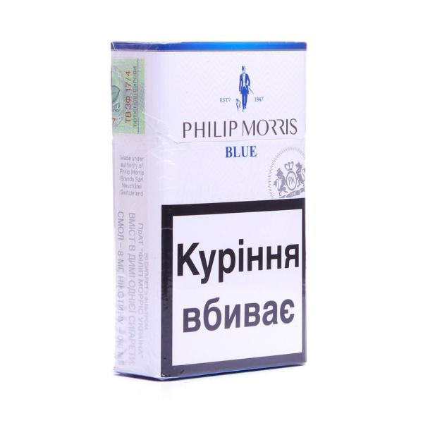 купить сигареты филипп моррис блю