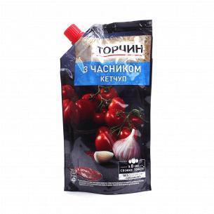 Кетчуп Торчин с чесноком д/п