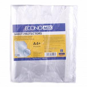 Файл-карман для документов Economix А4 глянец 30мкм
