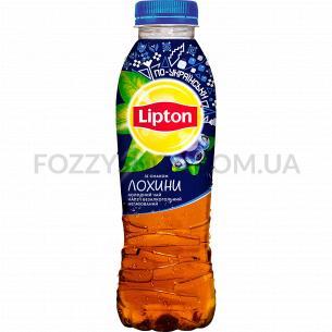 Холодный чай Lipton со вкусом голубики 0.5л