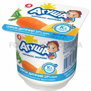 Творог Агуша детский абрикос-морковь 3,9%