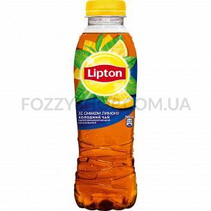 Холодный чай Lipton со вкусом лимона 0.5л