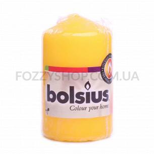 Свеча цилиндрическая желтая 80/50мм