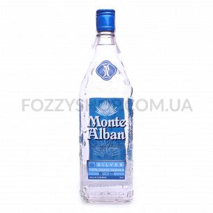 Текила Monte Alban Silver 100% Agave
