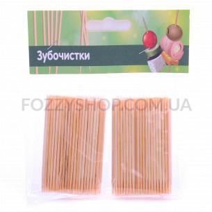 Зубочистки бамбукові