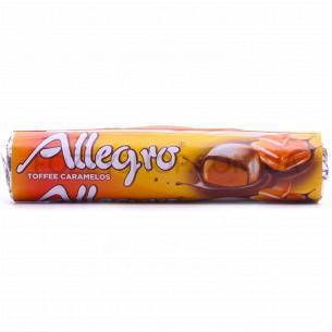 Конфеты Allegro тоффи покрыт молочным шоколадом