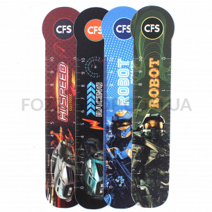 Закладки д/книг Cool FOR school RobCars CF69100