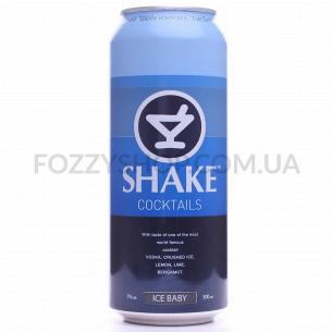 Напиток слабоалкогольный Shake Коктейль IceBaby жб