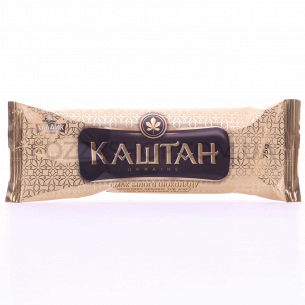 Мороженое Каштан пломбир в белом шоколаде