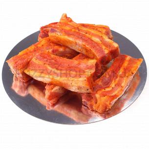 Свиное ребро в маринаде
