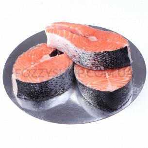 Семга (лосось) стейк охлажденный