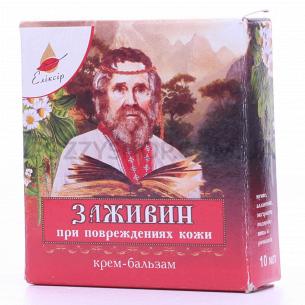 Крем-бальзам Еліксір Заживин