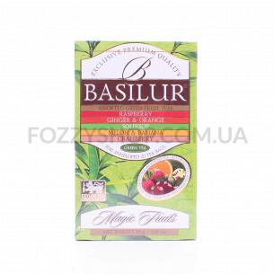 Чай зеленый Basilur ассорти