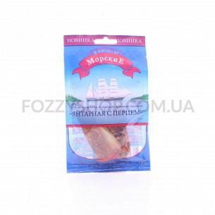 Путассу Морские Янтарная с перцем филе сушен/солен