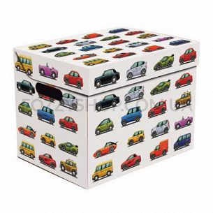 Ящик д/хранения Global-Pak Авто 2 карт 34х25х26см