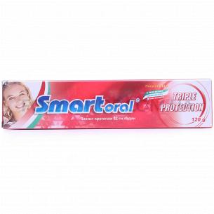 Паста зубная Smartoral тройное действие