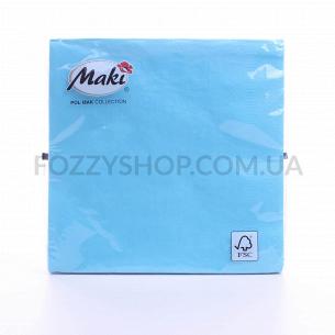 Салфетки Maki с рисунком бумажные 3-слойные M-19