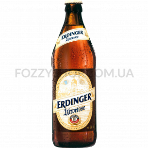 Пиво Erdinger Urweisse пшеничное светлое