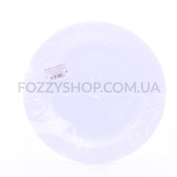 Набор тарелок одноразовых 3*22см