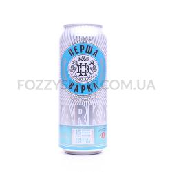 Пиво Перша приватна броварня ПервВарка светлое ж/б