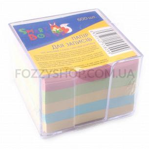 Бумага для записей, 500 листов пластик коробка D1