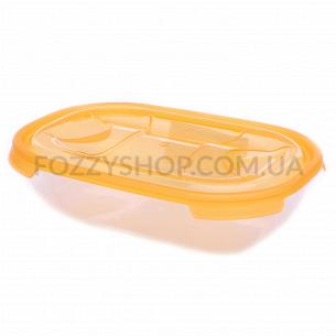 Контейнер пищевой Ал-Пластик овальный 0.5л