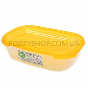 Контейнер пищевой Ал-Пластик овальный 1.15л