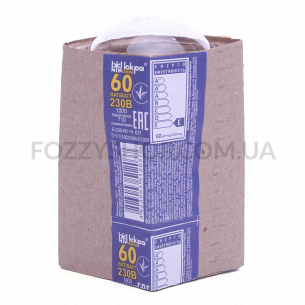 Лампа Іскра А50 230В 60Вт Е27 проз.манж.общ.назнач