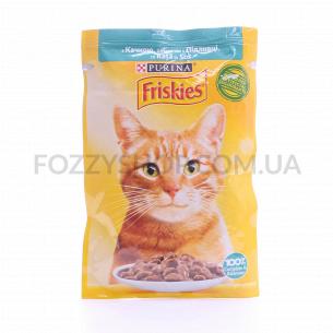 Корм для котов Friskies с уткой в подливке