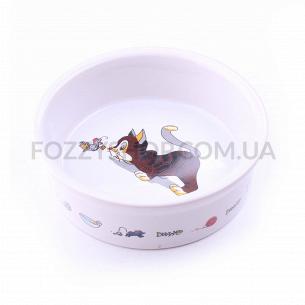Миска для котов Trixie керамическая 0,2л*11,5см