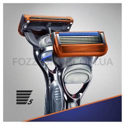 Бритва Gillette Fusion5 с 2 сменными картриджами