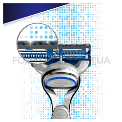 Бритва Gillette Skinguard Sensitive с 2 сменными кассетами