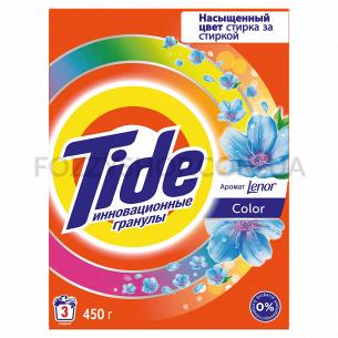 Стиральный порошок Tide Color Lenor Touch of Scent 450 г Автомат