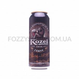 Пиво Velkopopovitsky Kozel темное ж/б