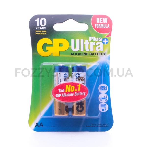 Батарейки GP Ultra + Alkaline AA LR6
